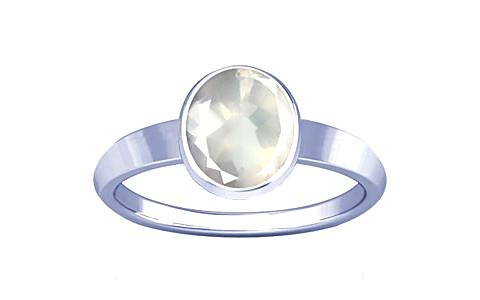 Rose Quartz Sterling Silver Ring (R1)