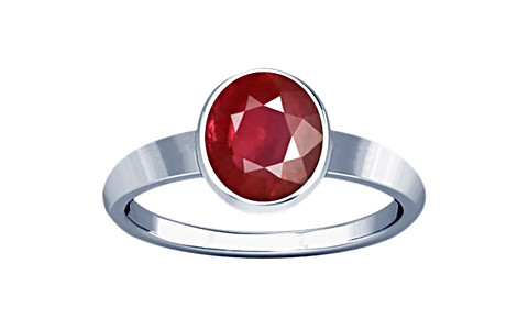 Ruby Sterling Silver Ring (R1)