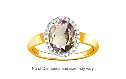 Ametrine Gold Ring (R1-Sparkle)