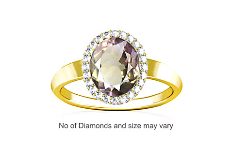 Ametrine Panchdhatu Ring (R1-Sparkle)