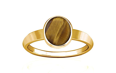 Tiger Eye Gold Ring (R1)
