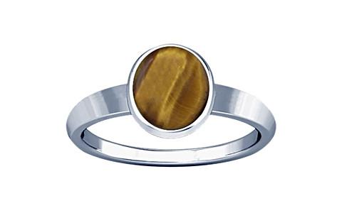Tiger Eye Sterling Silver Ring (R1)