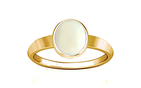 White Coral Gold Ring (R1)
