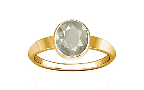 White Sapphire Gold Ring (R1)