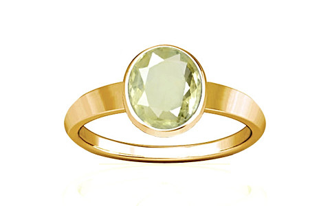 Yellow Sapphire Gold Ring (R1)