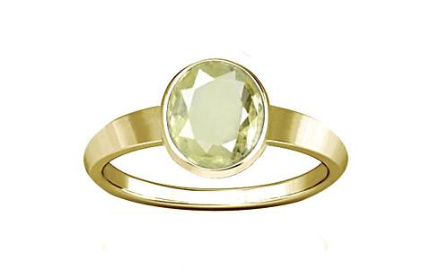 Yellow Sapphire Panchdhatu Ring (R1)