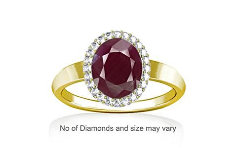 Ruby (India) Panchdhatu Ring (R1-Sparkle)