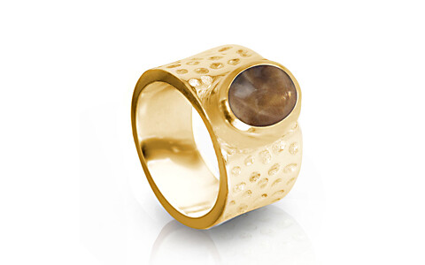 Sunstone Gold Ring (A18)
