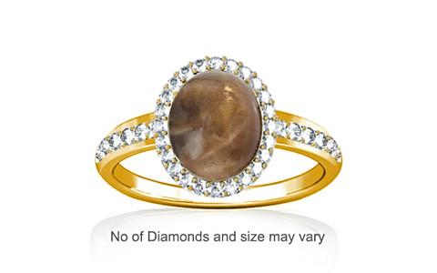 Sunstone Gold Ring (R1-Dazzle)