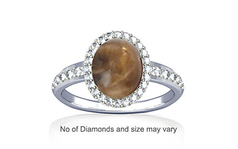 Sunstone Sterling Silver Ring (R1-Dazzle)