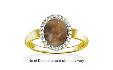 Sunstone Panchdhatu Ring (R1-Sparkle)