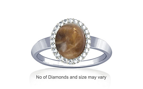Sunstone Sterling Silver Ring (R1-Sparkle)