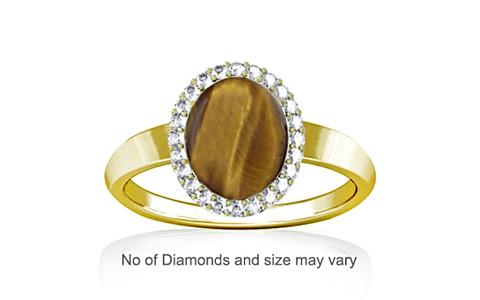 Tiger Eye Panchdhatu Ring (R1-Sparkle)