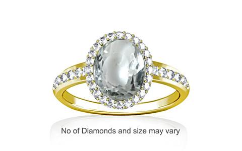 White Sapphire Panchdhatu Ring (R1-Dazzle)