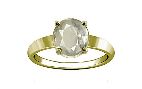 White Sapphire Panchdhatu Ring (A18)