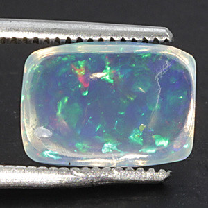 White Opal With Fire - 2.10 carats