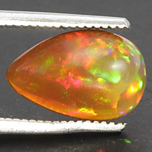 White Opal With Fire - 1.64 carats