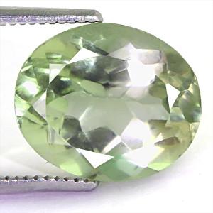 Green Amethyst (Prasiolite) - 5.19 carats