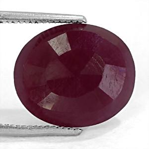 Ruby - 7.40 carats