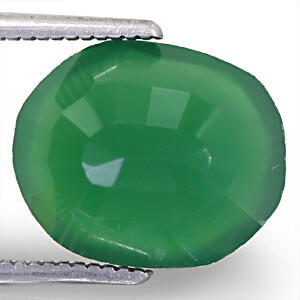 Green Onyx - 5.12 carats
