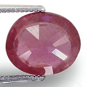 Ruby - 3.85 carats