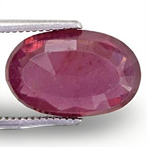 Ruby - 5.42 carats