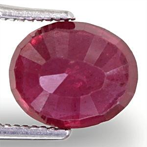 Ruby - 3.91 carats