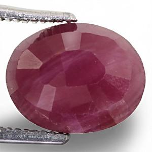 Ruby - 3.96 carats