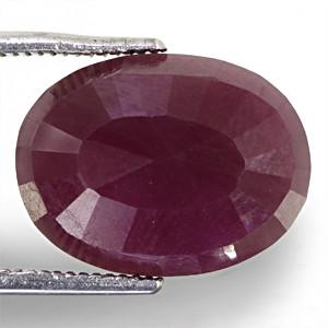 Ruby - 8.81 carats