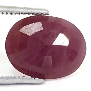 Ruby - 3.98 carats