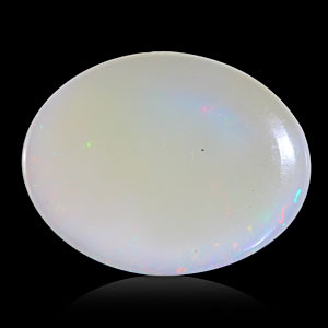 White Opal With Fire - 10.43 carats