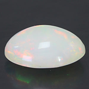 White Opal With Fire - 5.12 carats