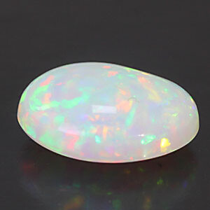White Opal With Fire - 4.82 carats