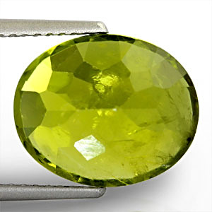 Peridot - 6.17 carats