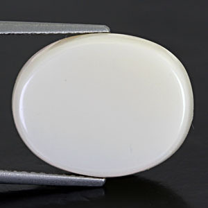 White Opal With Double Sided Fire - 9.75 carats