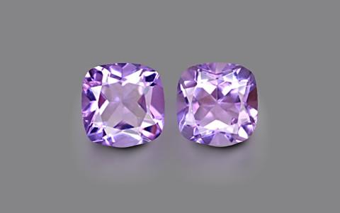 Amethyst Pair - 6.02 carats