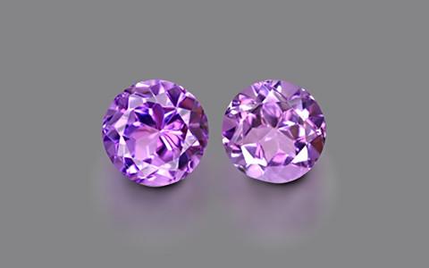 Amethyst Pair - 5.05 carats