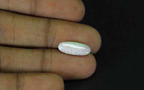 White Opal With Fire - 2.71 carats