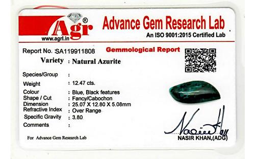 Azurite - 12.47 carats