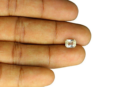 White Sapphire - 2.16 carats