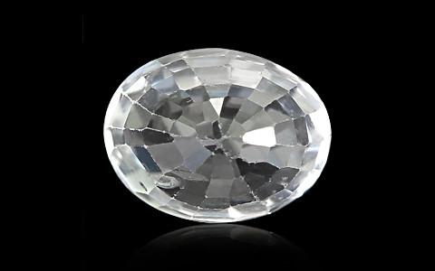 White Zircon - 3.88 carats