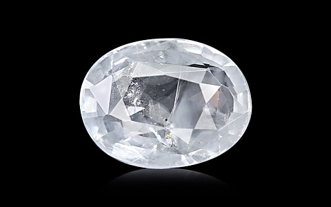 White Sapphire - 3.89 carats