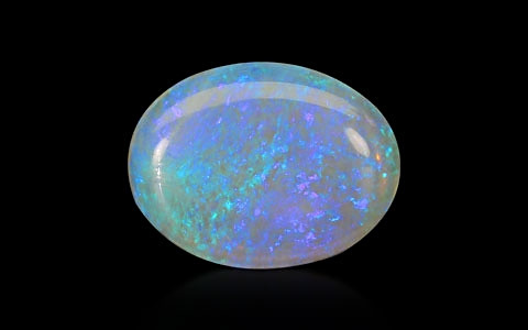 White Opal With Fire - 9.29 carats