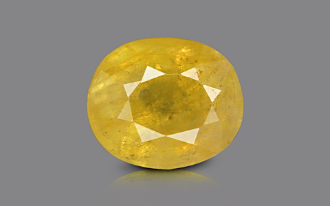 Yellow Sapphire - 3.78 carats