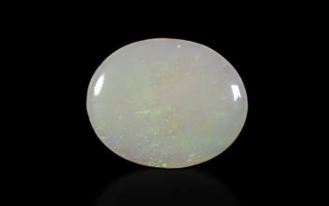White Opal With Fire - 8.94 carats