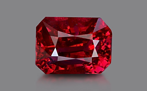Pigeon Blood Ruby - 3.07 carats
