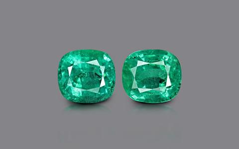 Emerald Pair - 8.15 carats