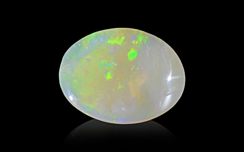 White Opal With Fire - 11.27 carats