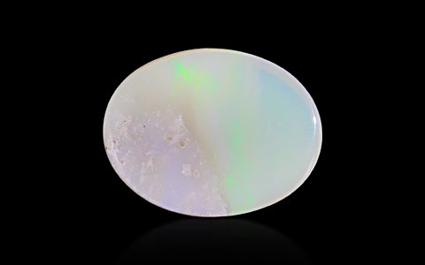 White Opal With Fire - 16 carats