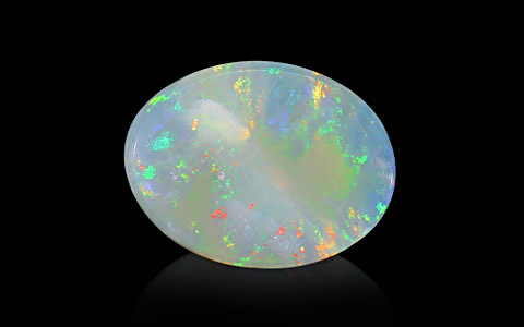 Opal With Fire (Transparent) - 6.76 carats